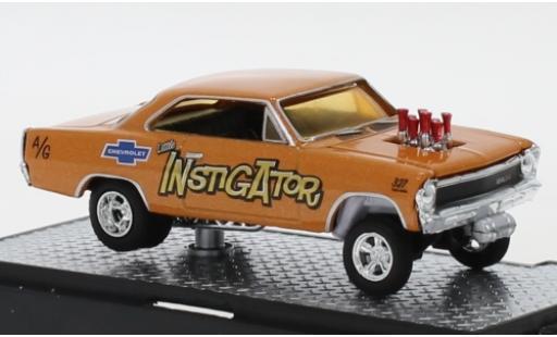 Chevrolet Nova 1/64 M2 Machines Gasser Instigator 1967 diecast model cars
