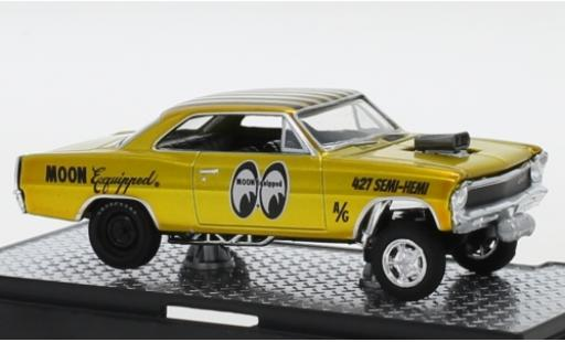Chevrolet Nova 1/64 M2 Machines Gasser Tuning Mooneyes - Moon Equipped 1967 modellautos