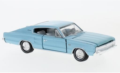 Dodge Charger 1/64 M2 Machines 383 metallise blue 1966 diecast model cars