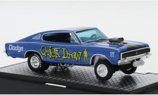 Dodge Charger 1/64 M2 Machines Gasser Quick Draw 1966 diecast model cars