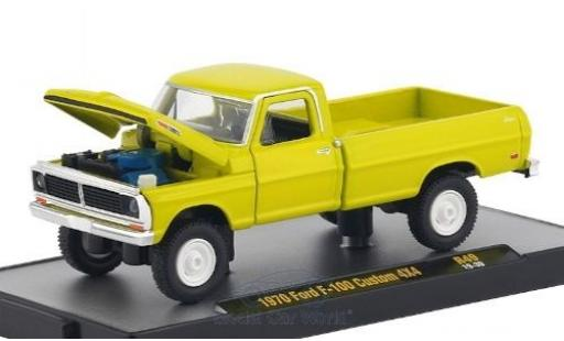 Ford F-1 1/64 M2 Machines 00 Custom 4x4 jaune 1970 miniature
