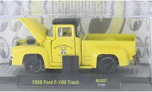 Ford F-1 1/64 M2 Machines 00 Truck jaune/noire Moon Equipment Co. 1956 miniature