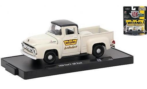 Ford F-1 1/64 M2 Machines 00 Truck blanche/noire Weiand 1956 miniature