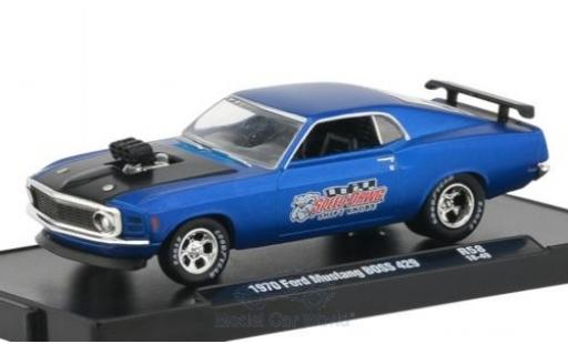 Ford Mustang 1/64 M2 Machines BOSS 429 Speed Dawg 1970 miniature