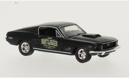 Ford Mustang 1/64 M2 Machines Cobra-Jet noire Bootlegger 1968 miniature