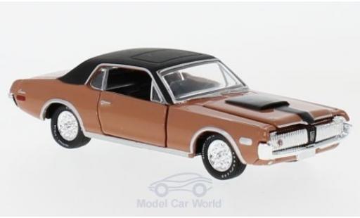 Mercury Cougar 1/18 M2 Machines R-Code rose/noire 1968 miniature