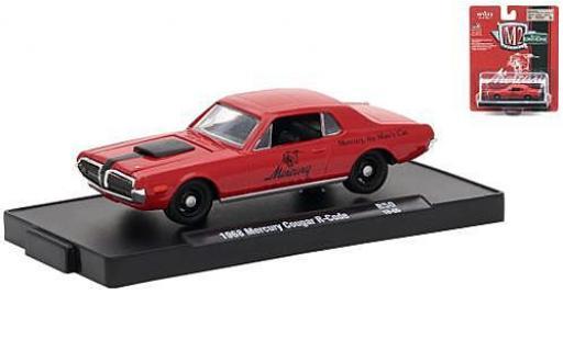 Mercury Cougar 1/64 M2 Machines R-Code rouge/noire 1968 miniature