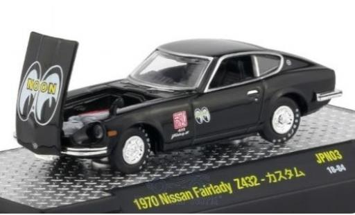 Nissan Fairlady Z 1/64 M2 Machines 432 black 1970 diecast
