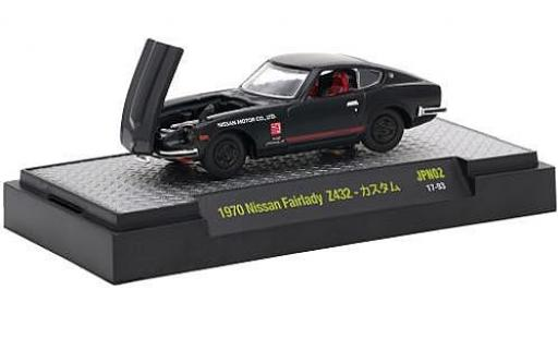 Nissan Fairlady Z 1/64 M2 Machines 432 black RHD 1970 diecast model cars