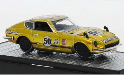 Nissan Fairlady Z 1/64 M2 Machines 432 Tuning RHD Mooneyes 1970 No.50 miniature