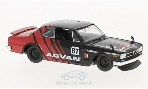Nissan Skyline 1/64 M2 Machines GT-R No.87 Advan 1971 modellautos