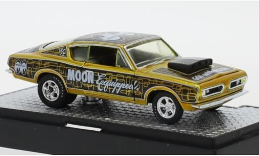 Plymouth Barracuda 1/64 M2 Machines HEMI Super Stock Tuning Mooneyes - Moon Equipped 1968 miniature