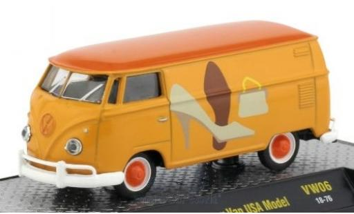 Volkswagen T1 B 1/64 M2 Machines Kastenwagen yellow/Dekor 1960 USA-Version diecast model cars