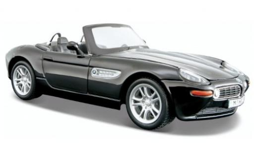 Bmw Z8 1/24 Maisto (E52) black 2000 diecast model cars