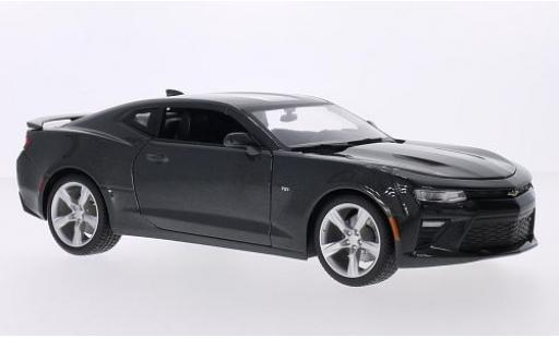 Chevrolet Camaro 1/18 Maisto SS metallise grey 2016 diecast model cars