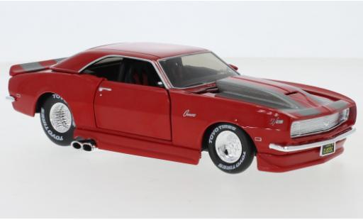 Chevrolet Camaro 1/24 Maisto Z/28 Tuning rouge/grise 1968 miniature