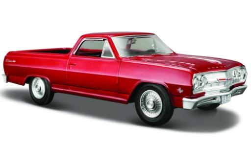 Chevrolet El Camino 1/24 Maisto metallise rouge 1965 1:25 miniature