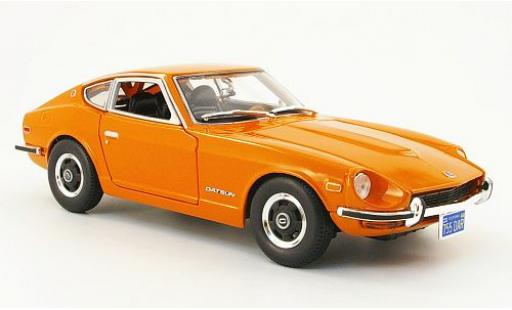 Datsun 240Z 1/18 Maisto orange 1971 miniature