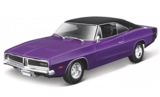 Dodge Charger 1/18 Maisto R/T orange 1969 miniature