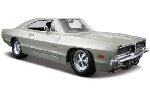 Dodge Charger 1/24 Maisto R/T grey 1969 1:25 diecast