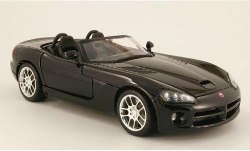 Dodge Viper 1/18 Maisto SRT-10 black 2003 sans Vitrine diecast model cars