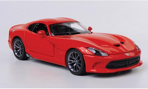 Dodge Viper 1/24 Maisto SRT GTS 2013 sans Vitrine miniature