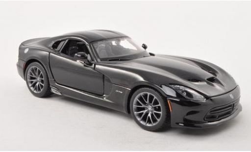 Dodge Viper 1/24 Maisto SRT GTS noire 2013 miniature