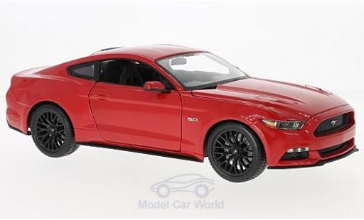 Ford Mustang 1/18 Maisto rouge 2015 miniature