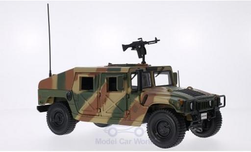 Hummer Humvee 1/18 Maisto Tarnfarben inklusive MG zur Dachbefestigung diecast