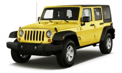 Jeep Wrangler 1/24 Maisto Limited jaune 2015 miniature