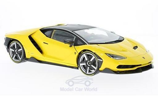 Lamborghini Centenario 1/18 Maisto metallise jaune Exclusive -Edition miniature