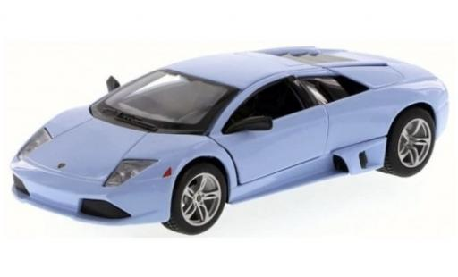 Lamborghini Murcielago 1/24 Maisto LP640 bleue 2010 miniature