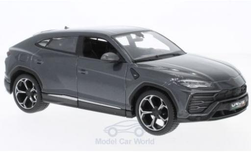 Lamborghini Urus 1/24 Maisto metallise grise miniature