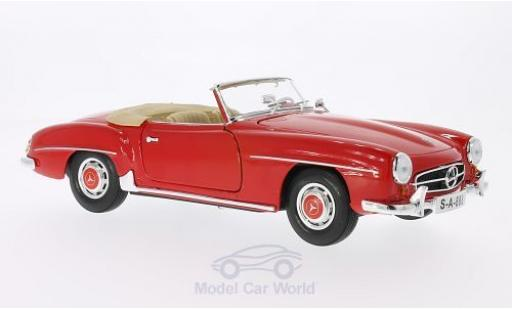 Mercedes 190 SL 1/18 Maisto rouge 1955 miniature