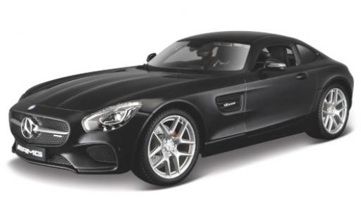 Mercedes AMG GT 1/18 Maisto (C190) metallise black diecast model cars