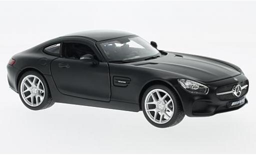 Mercedes AMG GT 1/24 Maisto matt-black diecast model cars