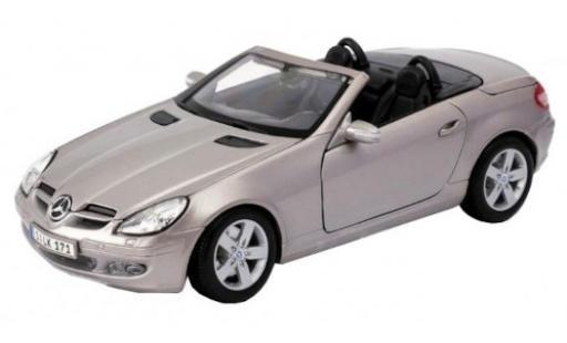 Mercedes Classe SLK 1/18 Maisto SLK (R171) metallise beige 2009 diecast model cars
