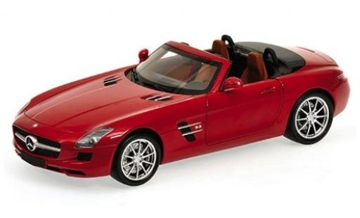 Mercedes SLS 1/24 Maisto AMG Roadster red 2010 diecast model cars