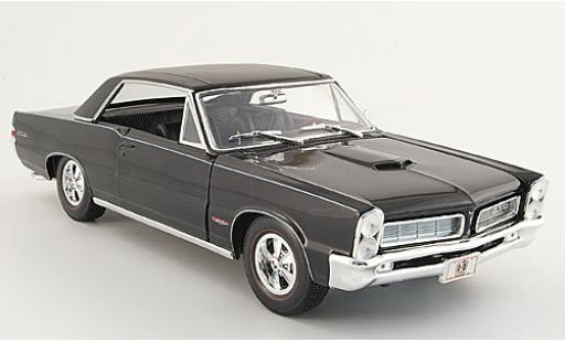Pontiac GTO 1/18 Maisto Hurst Edition black 1965 sans Vitrine diecast model cars