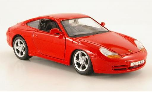 Porsche 996 1/24 Maisto 911 Carrera red 1997 sans Vitrine diecast model cars