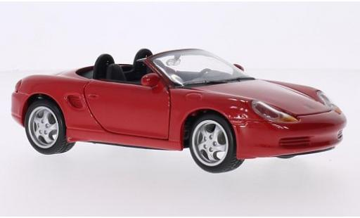 Porsche Boxster 1/24 Maisto red 1996 diecast model cars