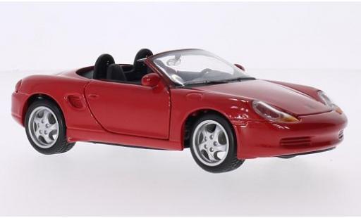 Porsche Boxster 1/24 Maisto rouge 1996 miniature