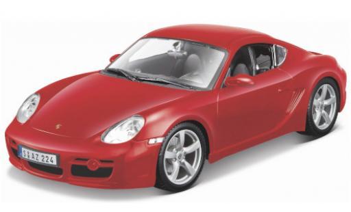 Porsche Cayman S 1/18 Maisto red diecast model cars