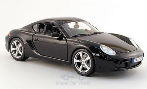 Porsche Cayman 1/18 Maisto S noire miniature