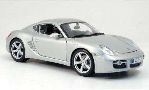 Porsche Cayman S 1/18 Maisto grise sans Vitrine miniature