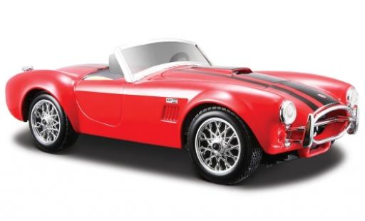 Shelby Cobra 1/24 Maisto 427 rouge 1965 miniature