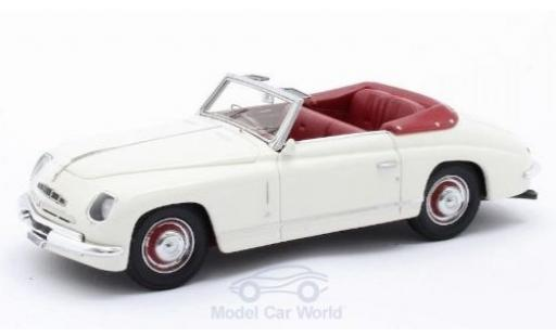 Alfa Romeo 6C 1/43 Matrix 2500 Ghia Convertible white RHD 1947 diecast model cars