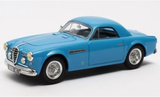 Alfa Romeo 6C 1/43 Matrix 2500 SS Supergioiello Coupe Ghia bleue RHD 1950 miniature