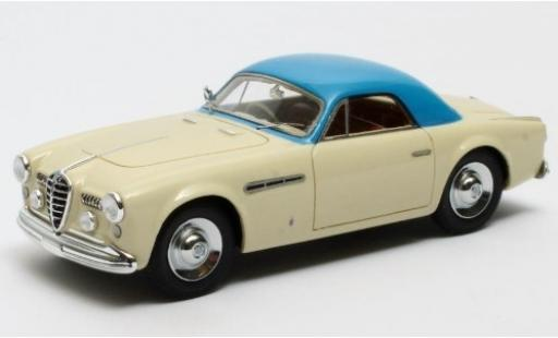 Alfa Romeo 6C 1/43 Matrix 2500 SS Supergioiello Coupe Ghia beige/blue RHD 1950 diecast model cars