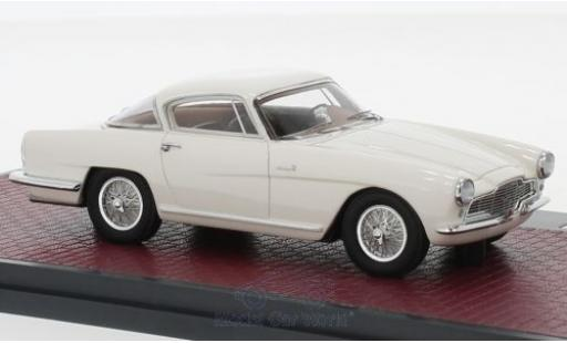 Aston Martin DB2 1/43 Matrix DB 2-4 Bertone Arnolt Coupe blanche 1953 miniature